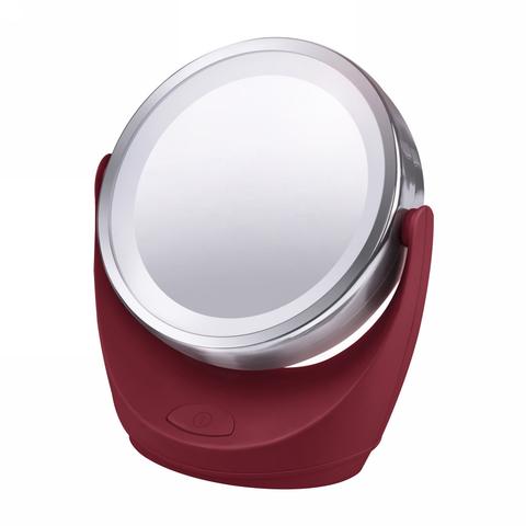 Зеркало MARTA MT-2646 бордовый гранат