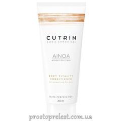 Cutrin Ainoa Body Vitality Conditioner - Укрепляющий кондиционер