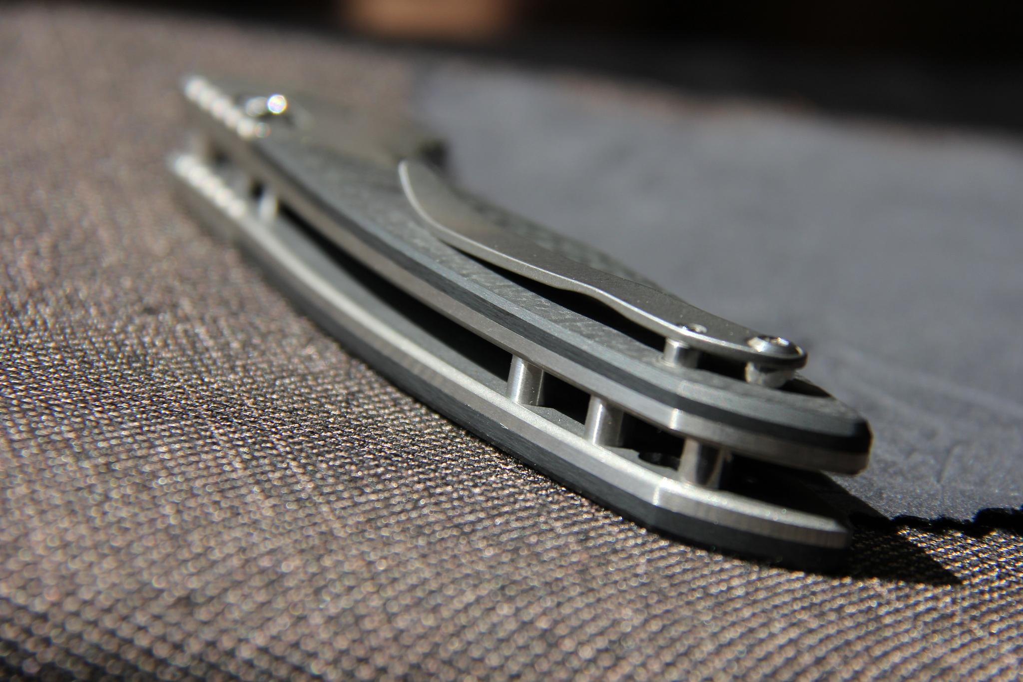 Нож Широгоров 110b карбон - фотография