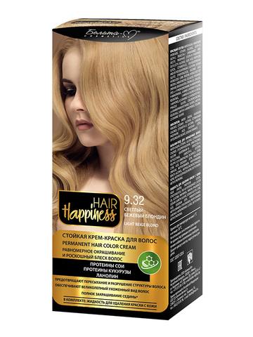 Белита-М Hair Happiness Крем-краска для волос аммиачная №9.32 бежевый блондин