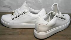 Купить белые кеды женские Molly shoes 557 Whate