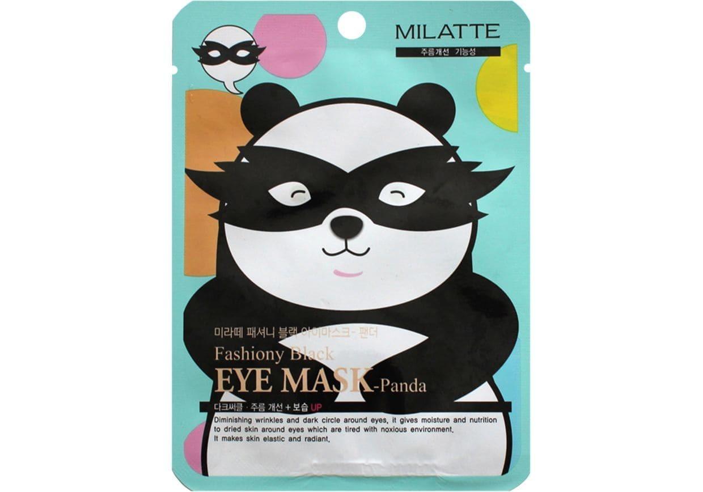 Маска панда - Milatte Fashiony Black Eye Mask Panda