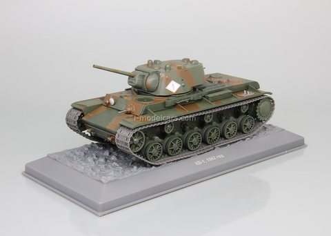 Tank KV-1 1942 1:43 DeAgostini Tanks. Legends Patriotic armored vehicles #10
