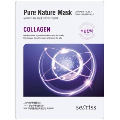 Маски для лица тканевые в ассортименте Anskin Secriss Pure Nature Mask Pack