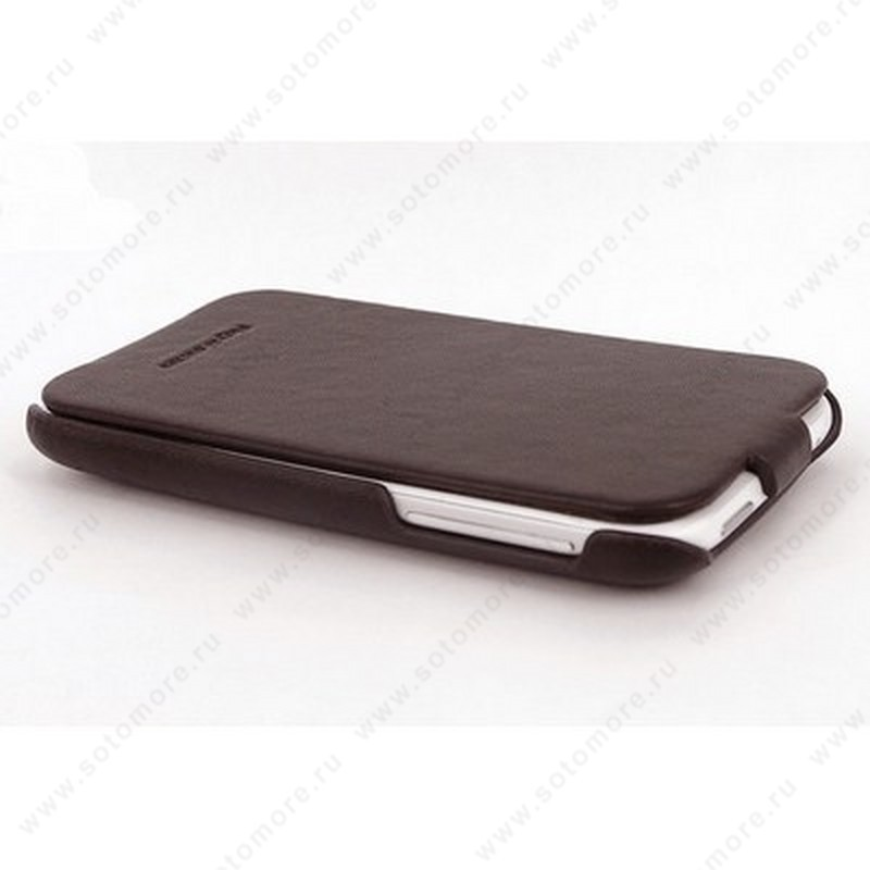 Чехол-флип HOCO для HTC Sensation XL - HOCO Leather Case Brown
