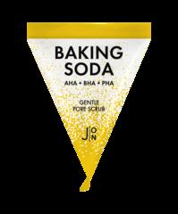 Скраб для лица содовый  J:ON  Baking Soda Gentle Pore Scrub, 1 шт * 5гр