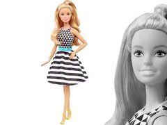 "Кукла Барби ""Модница"" 46, (Чёрно-белые полоски)"