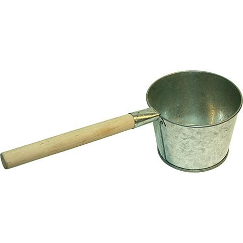 Ковш оцинкованый банный, 1,5 л