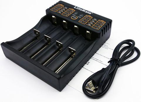 Зарядное устройство LiitoKala Lii-402 (Li-Ion, NiMH)