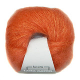 Пряжа Lana Gatto Silk Mohair 8392 оранжевый
