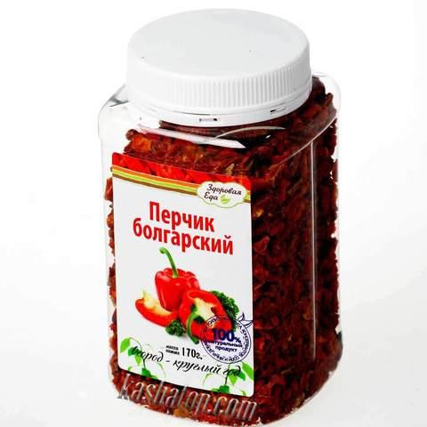 Паприка сушёная красная 'Здоровая еда' в ПЭТ-банке 170г