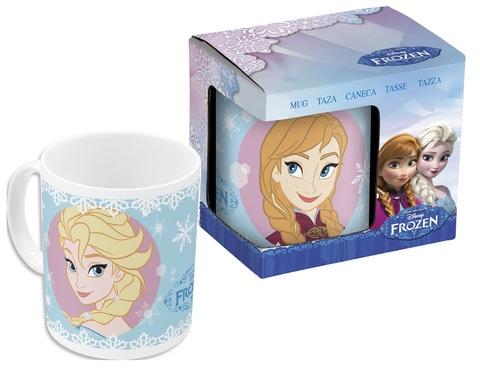 Холодное сердце Сестры Кружка керамическая — Cup Frozen Sisters