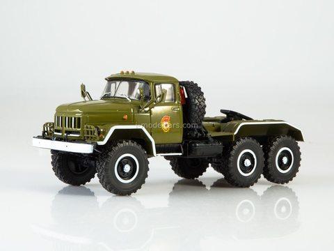 ZIL-131NV truck tractor parade khaki 1:43 Legendary trucks USSR #8