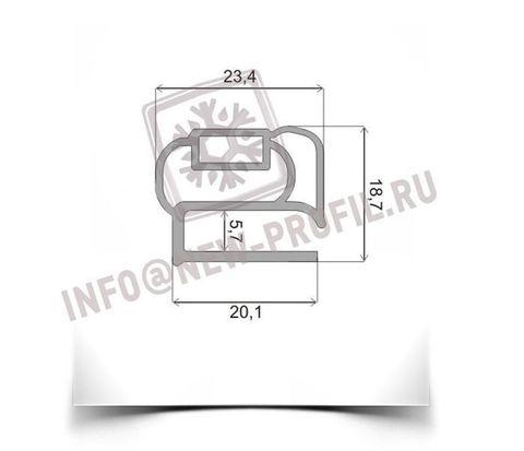 Уплотнитель для морозильной камеры Бирюса 4. Размер 760*550 мм (014)