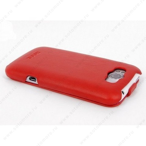 Чехол-флип HOCO для HTC Sensation XL - HOCO Leather Case Red