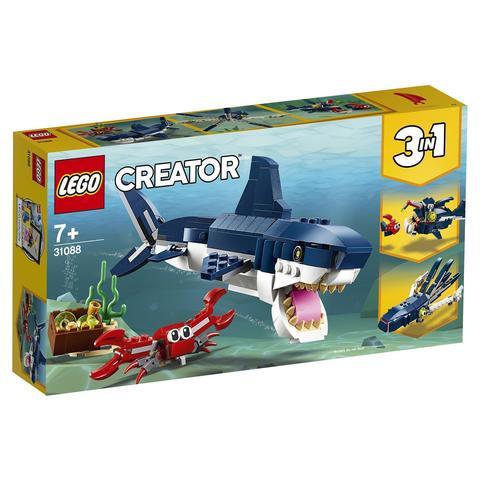 LEGO Creator: Обитатели морских глубин 31088 — Deep Sea Creatures — Лего Креатор Создатель