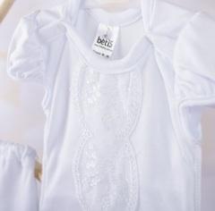 Нарядный костюм на девочку Злата белый