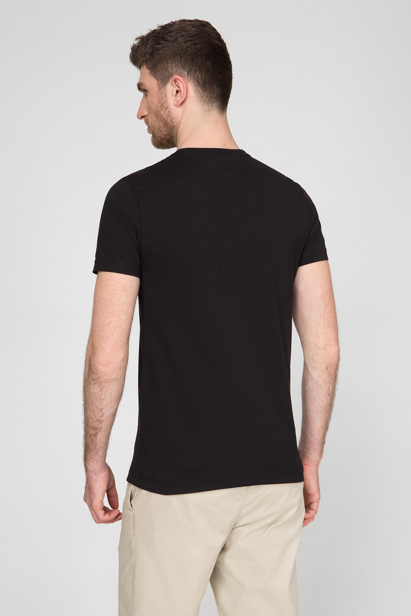 Мужская черная футболка ESSENTIAL COTTON Tommy Hilfiger