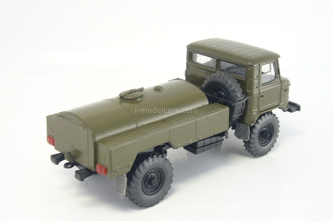 GAZ-66 AC-4.2(66) tanker khaki Russian Miniature USSR 1:43