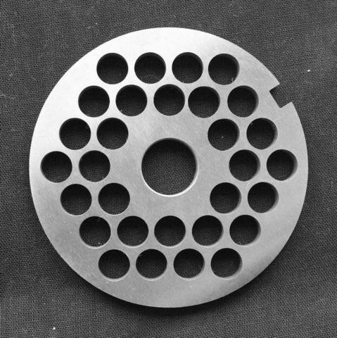 Решетка №3 9 мм для МИМ-600(М) нерж. сталь, с буртом и без бурта