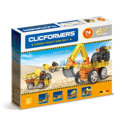 Конструктор CLICFORMERS 802001 Construction set 74 деталей