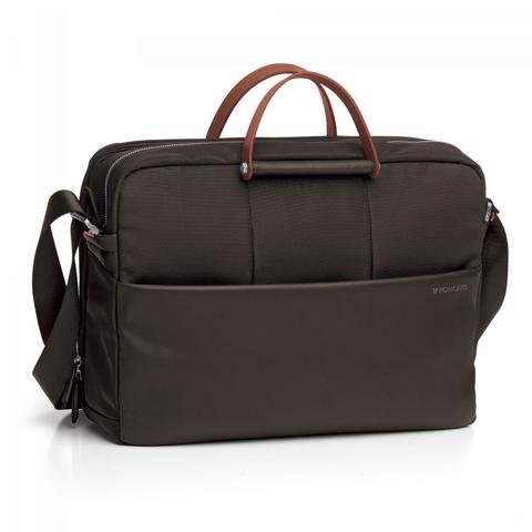 Сумка Roncato Wireless LAPTOP BAG 2 comp. Dark brown