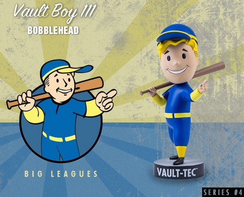 Фигурка Fallout 4 Vault Boy (Big Leagues)