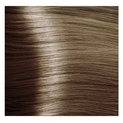 Крем краска для волос с гиалуроновой кислотой Kapous, 100 мл - HY 8.0 Светлый блондин