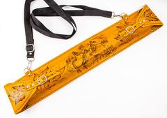 Мангал с шампурами в кожаном чехле, фото 2