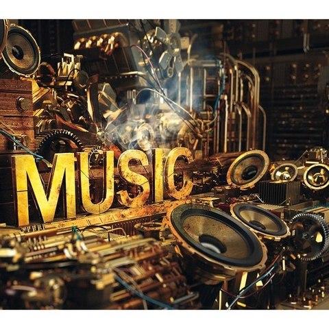 Музыка 294x260 см