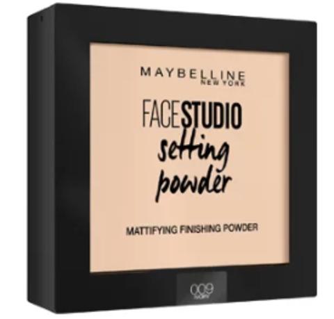 Maybelline FaceStudio Setting powder пудра компактная №009 светло-бежевый