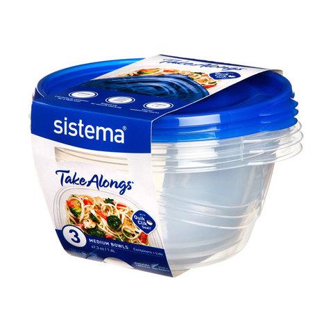 Набор круглых контейнеров TakeAlongs, 1,4 л (3 шт.)
