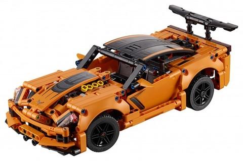 LEGO Technic: Chevrolet Corvette ZR1 42093 — Chevrolet Corvette ZR1 — Лего Техник
