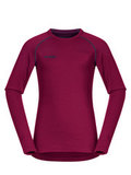 Bergans термобелье 1872 футболка Akeleie Youth Shirt Beet Red/Raspberry
