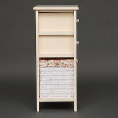 Тумба Secret De Maison HX16-827 S с корзиной и 2-мя ящиками (Белый)