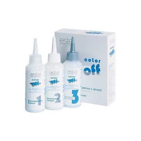 Смывка  Color Off Estel - Эмульсия для удаления нежелательных оттенков с волос