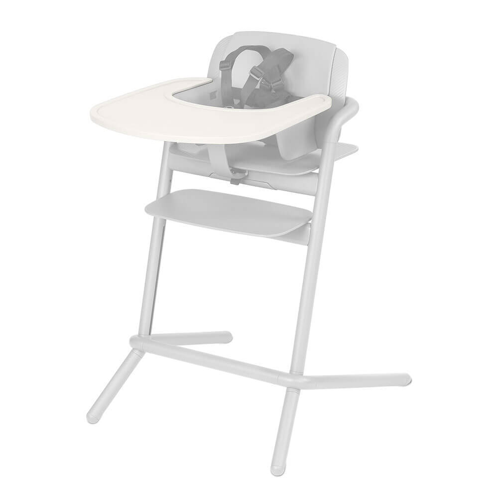 Cybex Lemo Tray Столик к стульчику Cybex LEMO Tray Porcelaine White 10191_1_37-LEMO-Tray-Design-Porcelaine-White.jpg