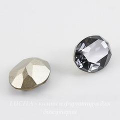 4120 Ювелирные стразы Сваровски Crystal Silver Night (14х10 мм)