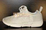 Светящиеся кроссовки с USB зарядкой на шнурках, цвет белый, светится верх. Изображение 15 из 23.