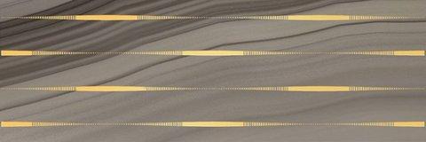 Декор Agat Lines кофейный 20x60