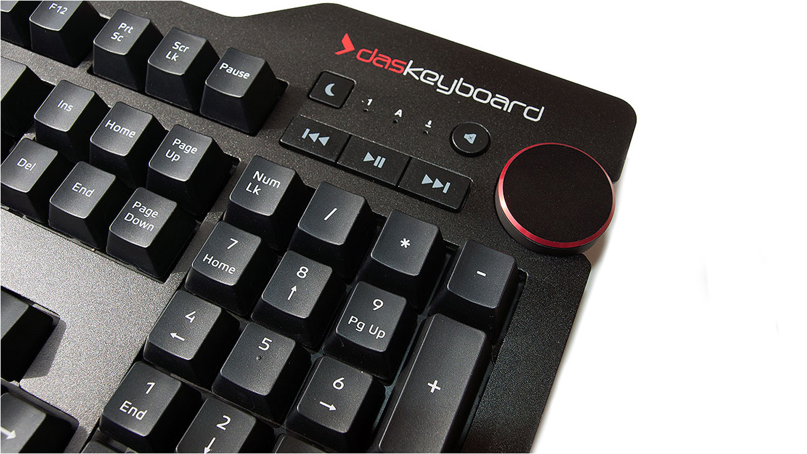 Das Keyboard 4 Professional — медиа-кнопки