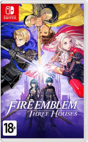 NS: Fire Emblem: Three Houses (английская версия)