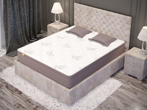 вид матраса Orto premium soft на кровати