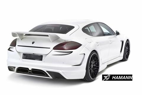 высокий спойлер Porsche Panamera 2010-2012г на багажник