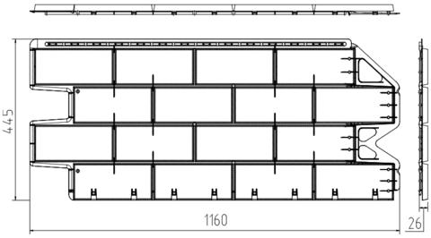 Фасадная панель Альта Профиль Фагот Можайский 1160х450 мм