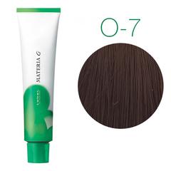 Lebel Materia Grey O-7 (блондин оранжевый) - Перманентная краска для седых волос