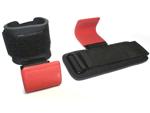 Зацепы для турников/тяги. Ширина крюка 6 см. Материал: текстиль, полиамид, металл. WS2315