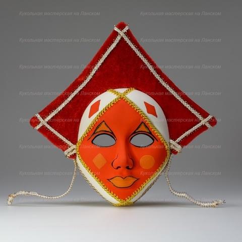 Бубны - интерьерная маска