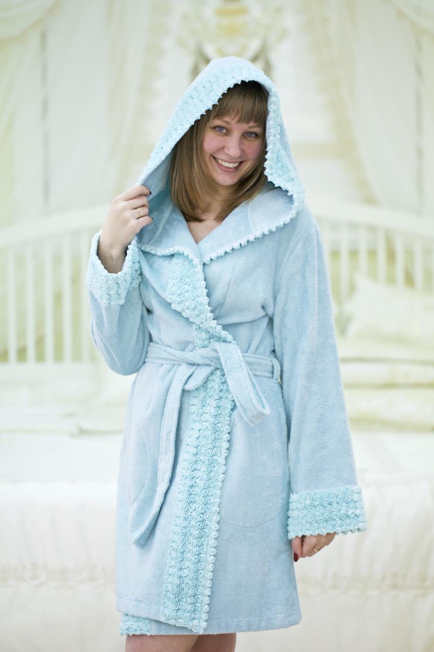 Махровые халаты VIVIENNE ВИВЬЕН женский махровый халат Maison Dor Турция VIVIENNE-BRZ.jpg