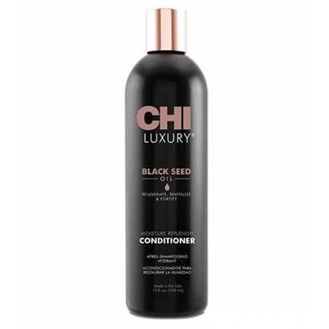 CHI | Кондиционер для волос CHI Luxury с маслом семян черного тмина Увлажняющий, (355 мл)